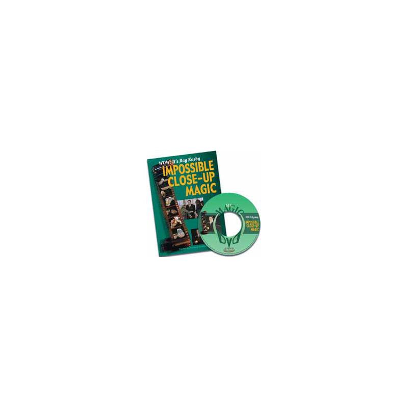 DVD Ray kosby Impossible Close-up Magic