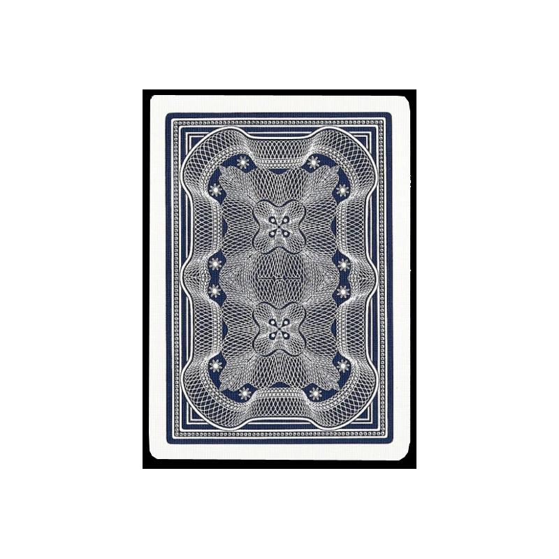 Jeu de carte Aristocrat Linen Finish ( Vintage Bleu )