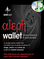 Aleph Wallet (Wallet and DVD) (  Vernet )!!!