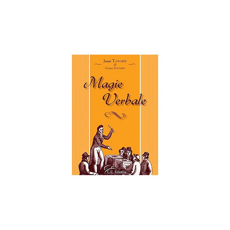 Livre Magie Verbale Juan Tamariz