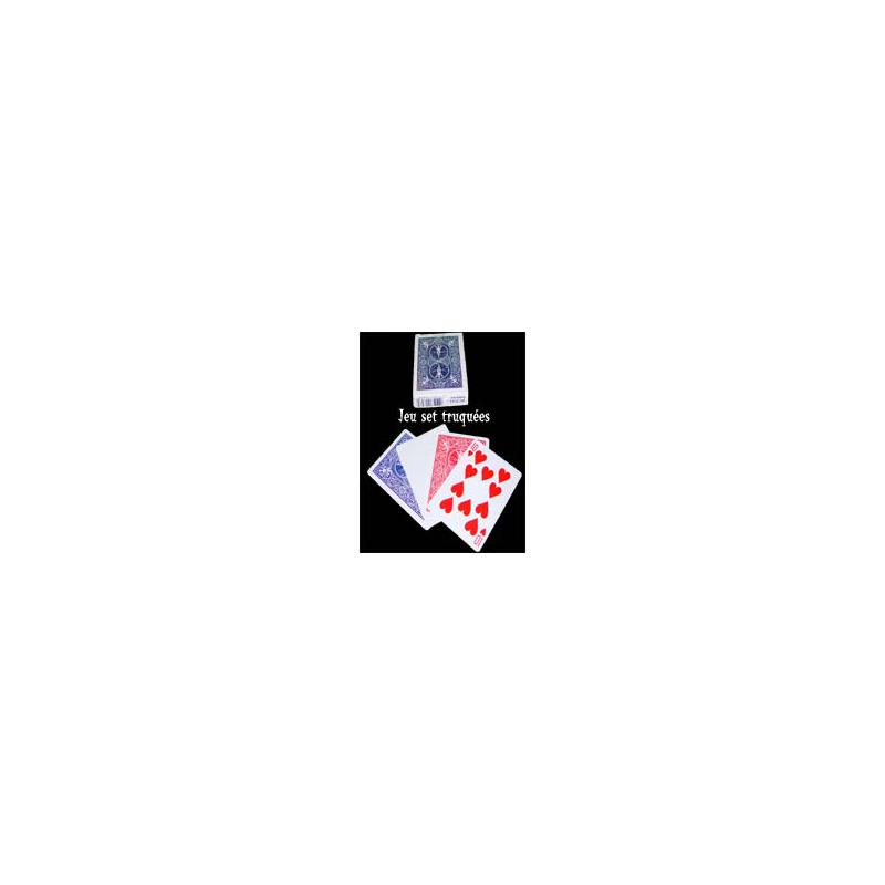 Bicycle jeu de carte Set Truquées