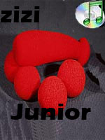 Ding Dong junior zizi en mousse