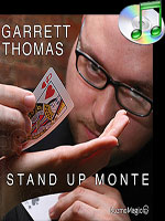 DVD Stand Up Monte (DVD and Gimmick) ( Garrett Thomas Kozmomagic )