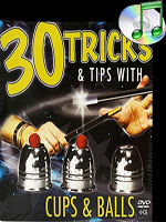 DVD 30 Tricks Cups and Balls with Cups & Balls