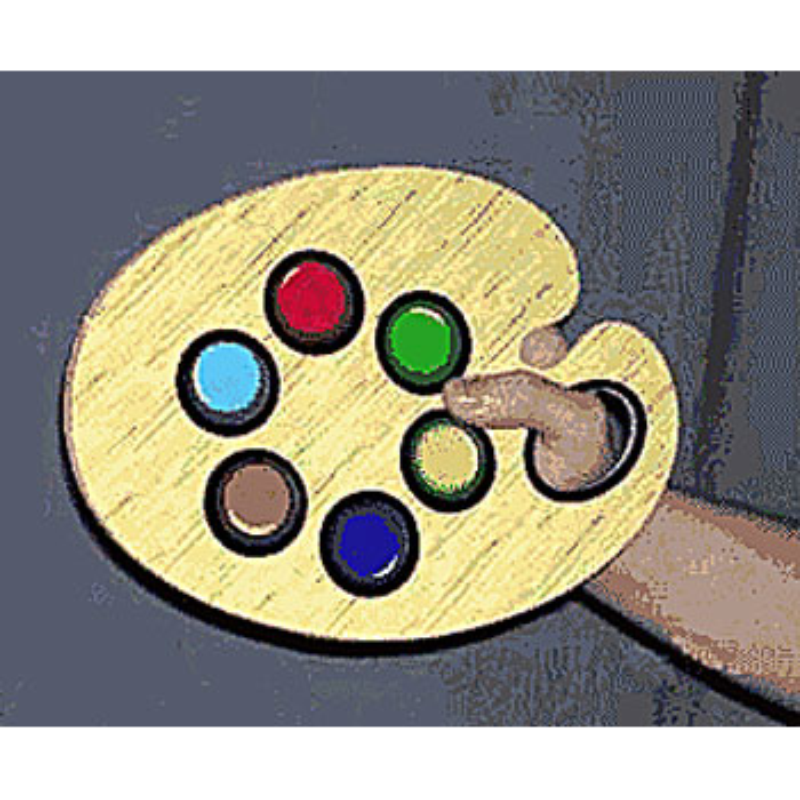 La palette du magicien