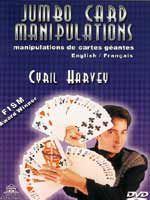 DVD Jumbo Card Manipulations Cyril Harvey