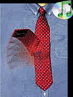 Cravate Obeissante - Pop up tie