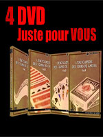 DVD  L'Encyclopédie des routines de Cartes 4 DVD (Vallarino)