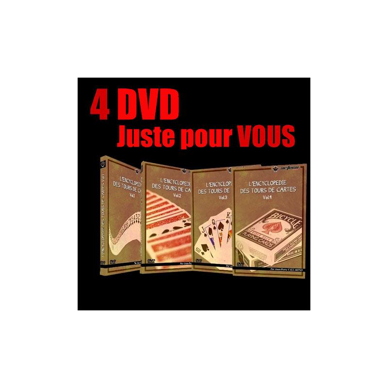 DVD  L'Encyclopédie des routines de Cartes 4 DVD (Vallarino)