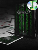 Bicycle Bulgaria Artifice emerald ( Playing Cards )