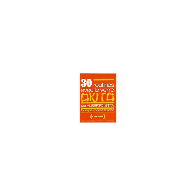 Livre 30 Routines avec le verre Okito