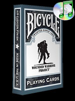 Bicycle Poker Wounded Warrior Project