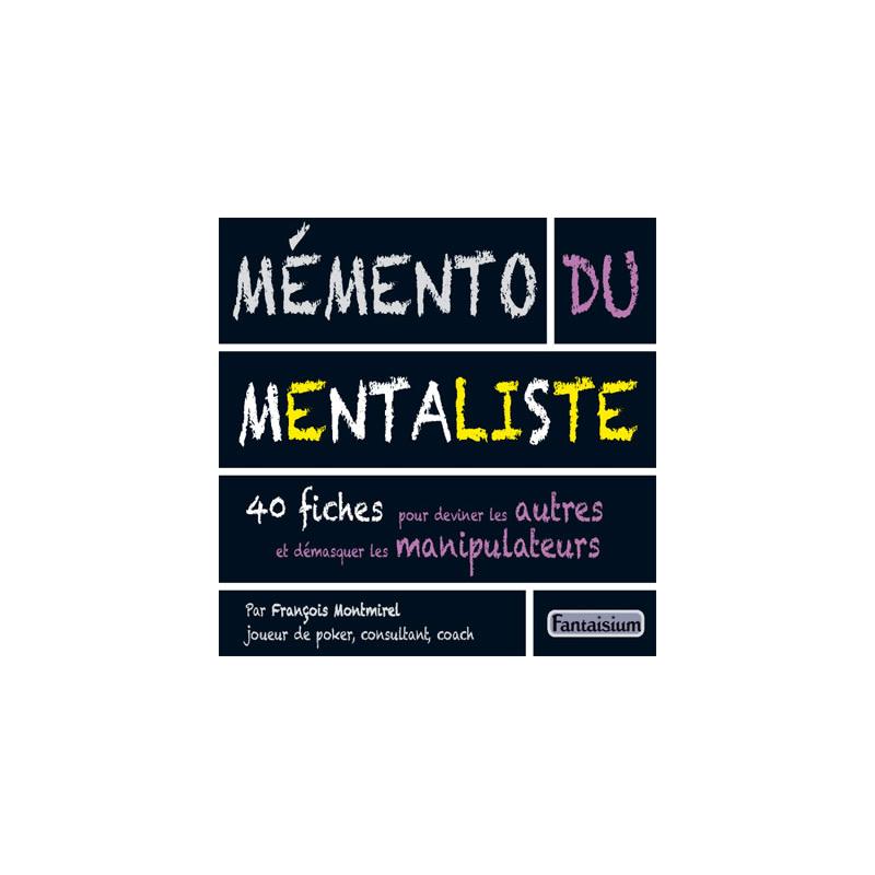 Livre Memento du mentaliste Magicien