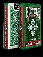 Bicycle Leaf Back Green