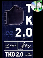 TKO2.0 The Kaylor Option BLACK and WHITE (Book, DVD, and Gimmick) ( Michael Ammar )
