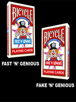 "Fast ""N"" Genious / Fake ""N"" Genious Deck Combo Set ( So Magic)"