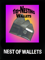 Nesting Wallets  ( Version plastique )