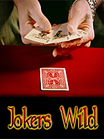 Cartes folles originale Joker wild ( Magic Maker )