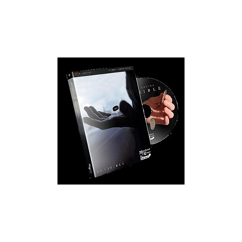 DVD Invisible damien Savina (DVD+gimmick)