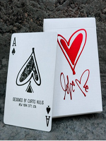 Love Me playing card ( Curtis Kulig )