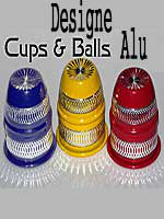 Cups and Balls Alu Designe