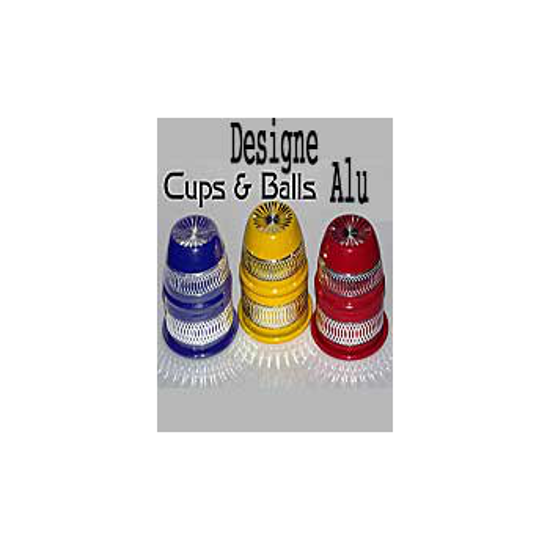 Cups and Balls Alu Designe
