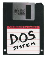 DVD DOS System (Red) ( Chris Ballinger )
