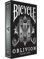 1st Run Bicycle Oblivion Deck (White) ( Playing Card )