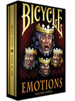 1st Run Bicycle Emotions Deck ( Playing Card )