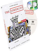 The Jokerlist + DVD ( Alex Mann and M.G. )