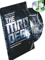 The MRD Deck red (DVD and Gimmick) ( Big Blind Media )