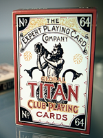 Global Titans (Gold) from The Expert (Playing Card Co)