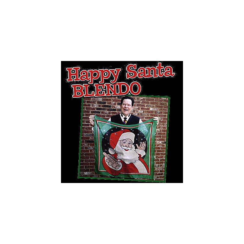 Blendo Père Noel 90 cm X 90 cm - David Ginn