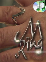 The M Ring  + dvd - Small Size ( Ben Salinas )