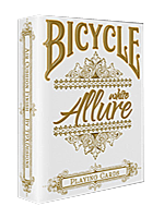 Bicycle Allure White ( playing card )