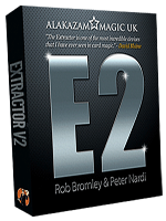 Extractor V2 E2 (with DVD and Gimmick ( Rob Bromley and Peter Nardi )
