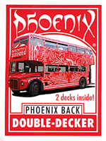 Phoenix Double Decker One Way (Rouge) - Card Shark