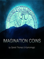 Imagination Coins US (DVD ( Garrett Thomas )