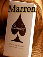 Jeu de cartes Rounders Brown ( Daniel Madison elusionist )