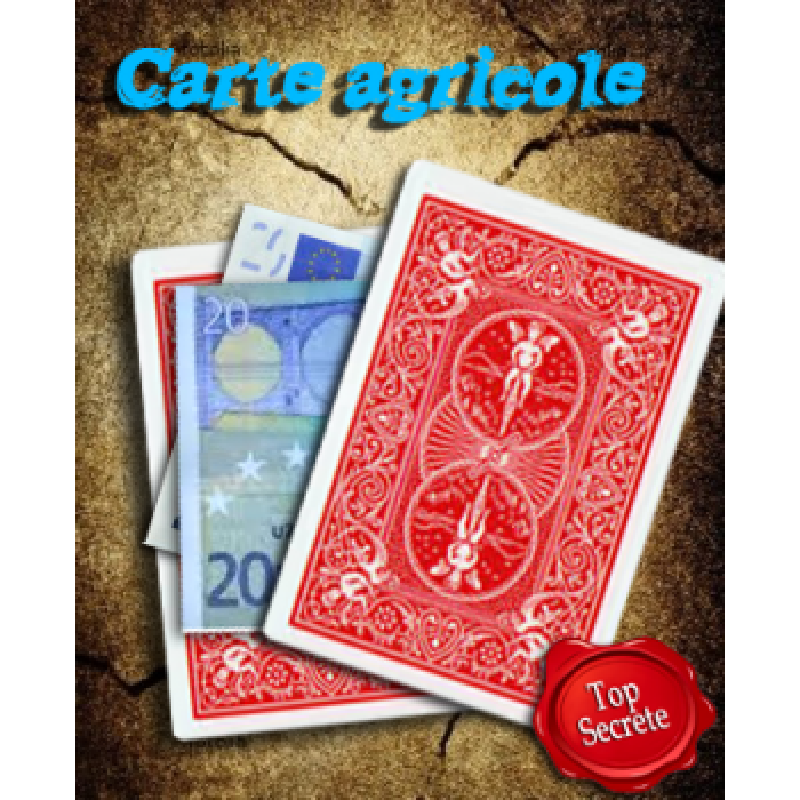 Carte Agricole - Production de billet