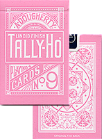 Tally ho reverse Fan Back ( Rose )