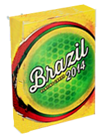 Brazil Playing Cards 2014 ( The Blue Crown )
