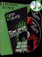 DVD Believe 2 dvd ( Aaron DeLong )