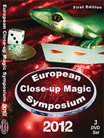Dvd European Close-Up Magic Symposium