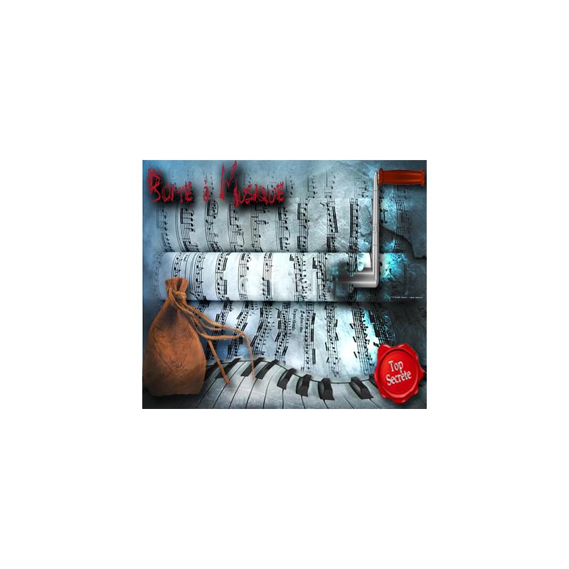 La Boite à Musique Mystére ( La lettre à Elise )