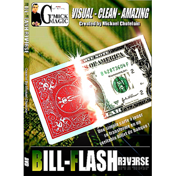 Bill Flash Card Reverse Bleu ( michael chatelain )