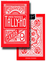 Tally ho reverse Fan Back ( Rouge )