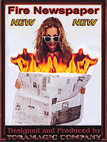 Fire Newspaper ( Tora Magic )