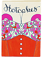 Hotcakes Red Playing Cards ( Uusi Corporation )