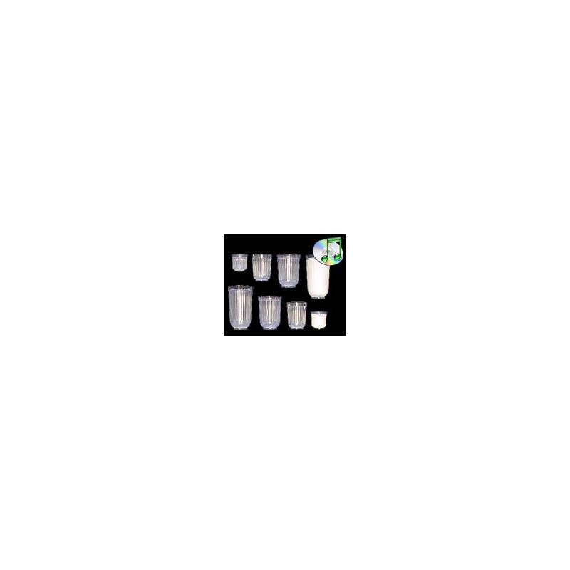 Diminishing Milk - verres qui diminue